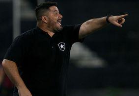 Botafogo demite técnico Eduardo Barroca