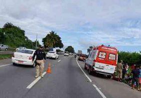 Ciclista morre após colisão com motocicleta na BR-230, em João Pessoa