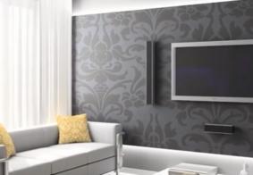 Decoração: papel de parede continua em alta e revestimento 3D é tendência