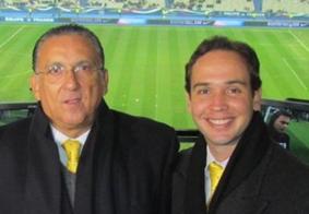 Caio Ribeiro e esposa estão com Covid-19, revela Galvão Bueno