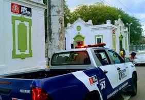 Guarda Civil de João Pessoa prende suspeito de furtos em cemitério