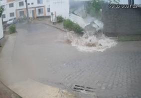 Em 8 horas, chuva supera média histórica de 30 anos para fevereiro em João Pessoa