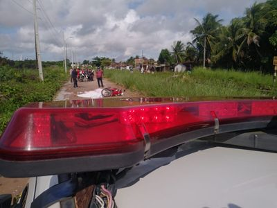 Dois homens são mortos a tiros a caminho do trabalho em Cabedelo