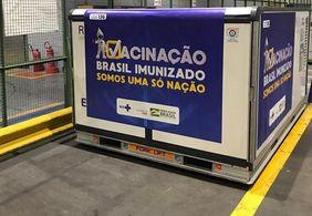 Paraíba receberá 36 mil doses de vacina contra Covid-19 neste domingo (24)