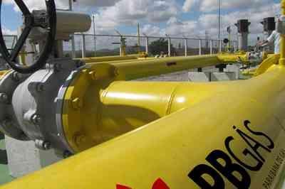 Gás natural na Paraíba tem redução média de 15,7%