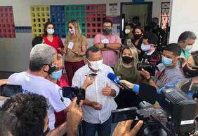 """""""É o dia da redenção de João Pessoa"""", diz candidato Nilvan Ferreira após votação"""