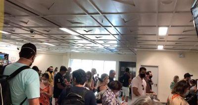 Vídeo: aglomeração é registrada no Aeroporto de João Pessoa