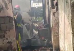 Incêndio deixa homem com mais de 50% do corpo queimado na Grande JP