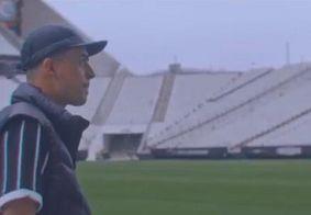 Rapper lança clipe na Arena Corinthians para homenagear o time; veja