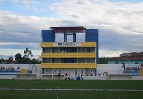 Estádio Cornélio de Barros, em Salgueiro