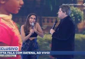 Anitta se recusa a cantar nova música ao vivo no programa de Datena