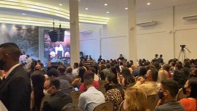 Vigilância Sanitária interrompe culto em João Pessoa por aglomeração