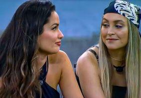 Juliette acolhe Carla após isolamento da sister com grupo da xepa