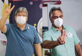 Governador da PB e prefeito da capital votam em colégios de João Pessoa; veja