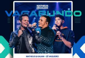 Matheus & Kauan lançam música com Zé Vaqueiro; confira