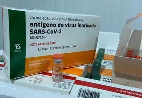 Mais de 56 mil doses da CoronaVac chegam neste domingo (7) na Paraíba