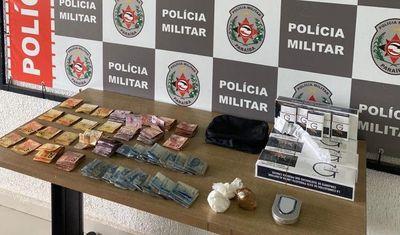 Polícia prende suspeito de tráfico em comunidade de João Pessoa