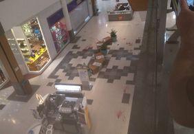 Preso em João Pessoa suspeito de participar de tiroteio em shopping de PE