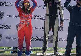  Multicampeão em esportes radicais, piloto paraibano vence primeira etapa do estadual de kart