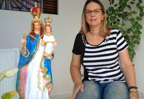 Imagem de Nossa Senhora da Penha é encontrada, em João Pessoa