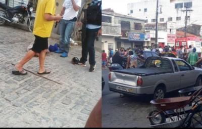 Recebe alta mulher vítima de bala perdida durante tentativa de assalto em Belém, na PB