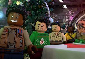 LEGO Star Wars: Especial de Festas | Rey encontra Baby Yoda e Darth Vader em trailer do especial