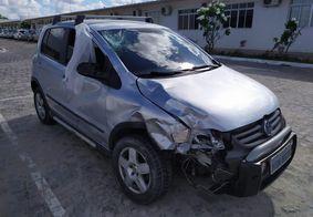 Polícia localiza suspeito de atropelar motociclista em João Pessoa; veja o vídeo