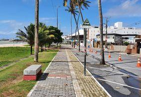 Prefeitura proíbe banho de mar, mas permite atividades físicas até 16h