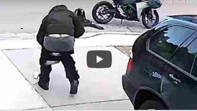 Atrapalhado, ladrão deixa cair as próprias calças durante a fuga; veja