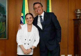 Regina Duarte não recusaria convite para novela da Globo, diz colunista