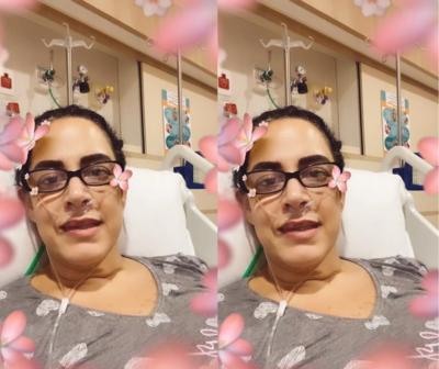 """Filha de Silvio Santos é internada com covid: """"Cheguei implorando pra respirar"""""""