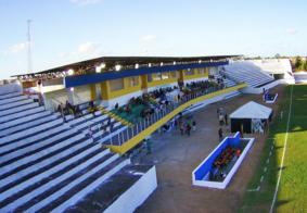 Estádio Lourival Caetano, em Bayeux
