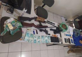 Operação prende 15 homens e apreende mais de dez armas na Paraíba