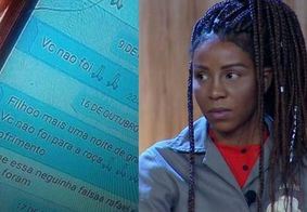 Luane Dias e fãs acusam mãe de Caique Aguiar de racismo após conversa vazar na Record