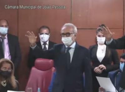Cícero Lucena empossado prefeito de João Pessoa
