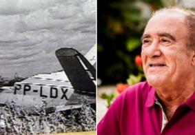 Perfil relembra queda de avião que levava Renato Aragão em Campina Grande; veja