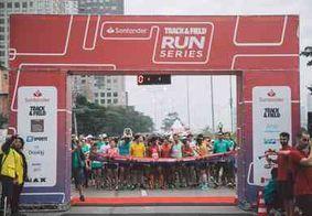 1º lote de inscrições para corrida Santander Track&Field segue até o próximo domingo (28)