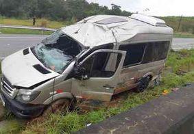 Acidente deixa quatro pessoas feridas em rodovia no Litoral Sul da PB