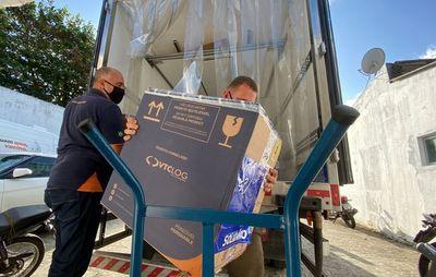 Paraíba distribui mais de 57 mil doses de vacina contra a covid-19