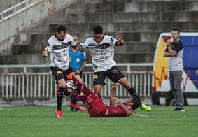 Alvinegro empatou sem gols no Almeidão