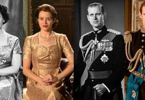 The Crown | Compare os atores da série com os personagens da vida real
