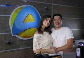 Jornalistas Bruno Sakaue e Patrícia Rocha rescindem contrato com TV Arapuan