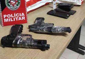 Polícia prende suspeitos de assaltos a farmácias de João Pessoa