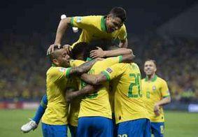 Brasil vence Peru por 3 a 1 e é campeão da Copa América