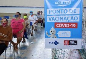 Ponto de vacinação em João Pessoa