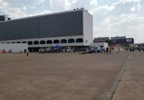 Manifestação conta com poucos participantes em Brasília
