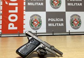 Polícia Militar apreende arma de fogo em João Pessoa