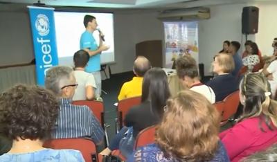 Representantes de municípios da PB se capacitam para conquista do selo UNICEF