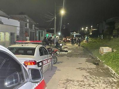 Imagem do primeiro crime, na Rua São Pedro, em Mandacaru