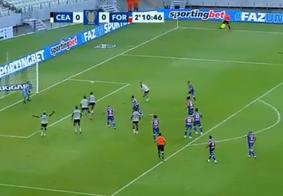 Ceará e Fortaleza empatam sem gols no 1º Clássico-Rei de 2021 pela Copa do Nordeste